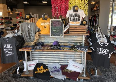 Store entrance Spiritwear